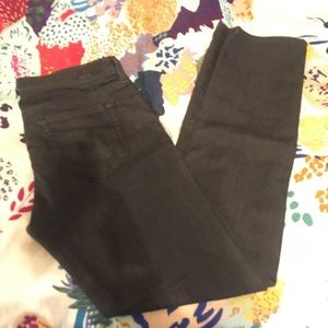 AG Jeans The Stevie Slim Straight Black Jeans